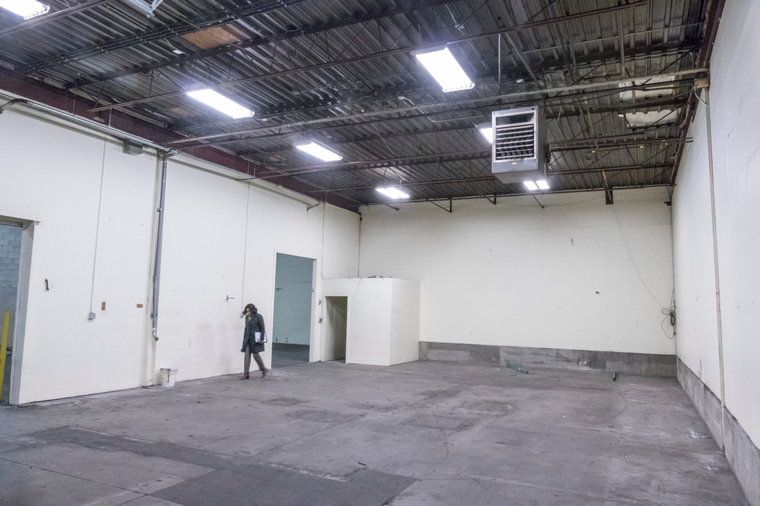 Mississauga Toronto warehouse space for rent for film, video, and photo shoot production rental