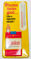 Winston Cigarettes metal outdoor thermometer 150915-9942_fin