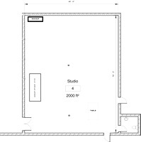 Boa Studio S floorplan